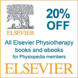 Elsevier 20% discount for members