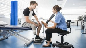 Lower Limb Amputee Pre-Prosthetic Management and Introduction to Prosthetics