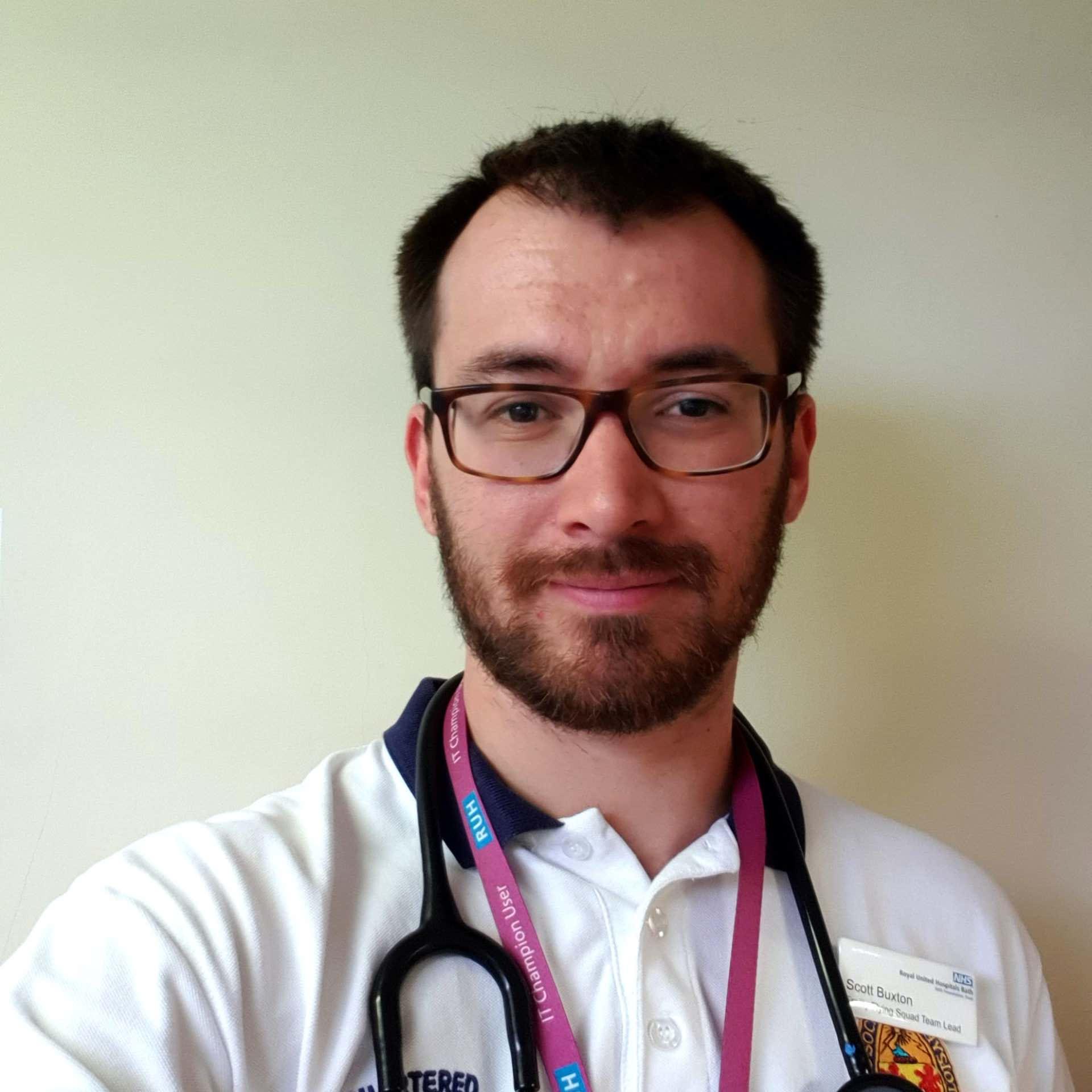 PhysioPlus course tutor - Scott Buxton