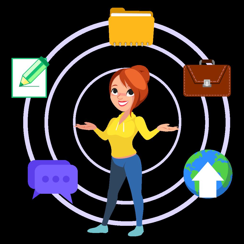 Online digital professional development practice portfolio