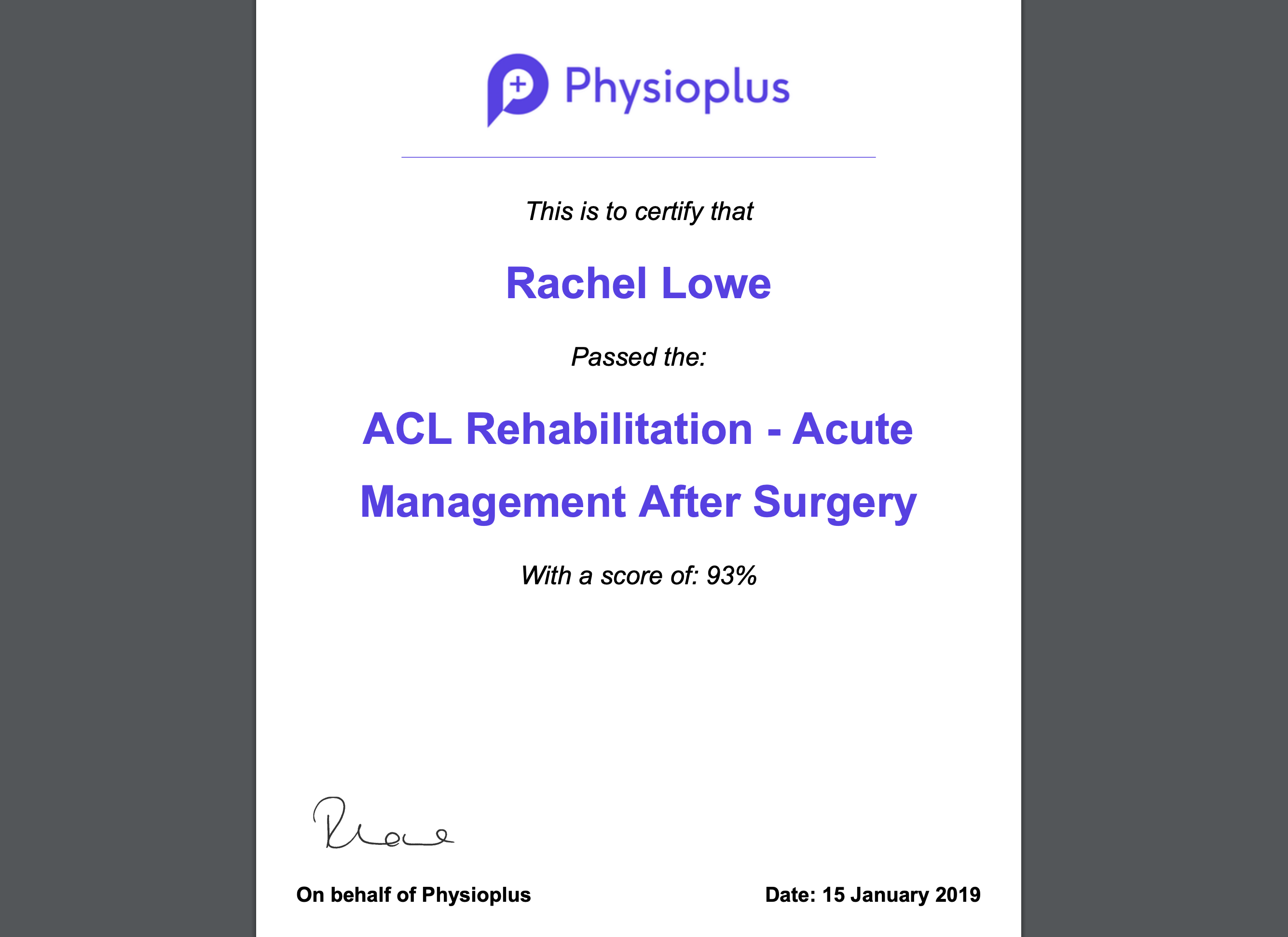 international physiotherapy and physical therapy experts